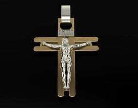 3D printable model jesus Cross Jesus