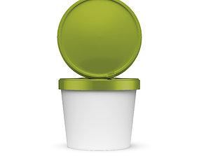 Ice Cream Packaging 3D