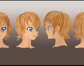 3D Male hair style 1