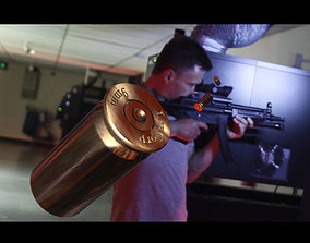 9mm Shell Casing 3D