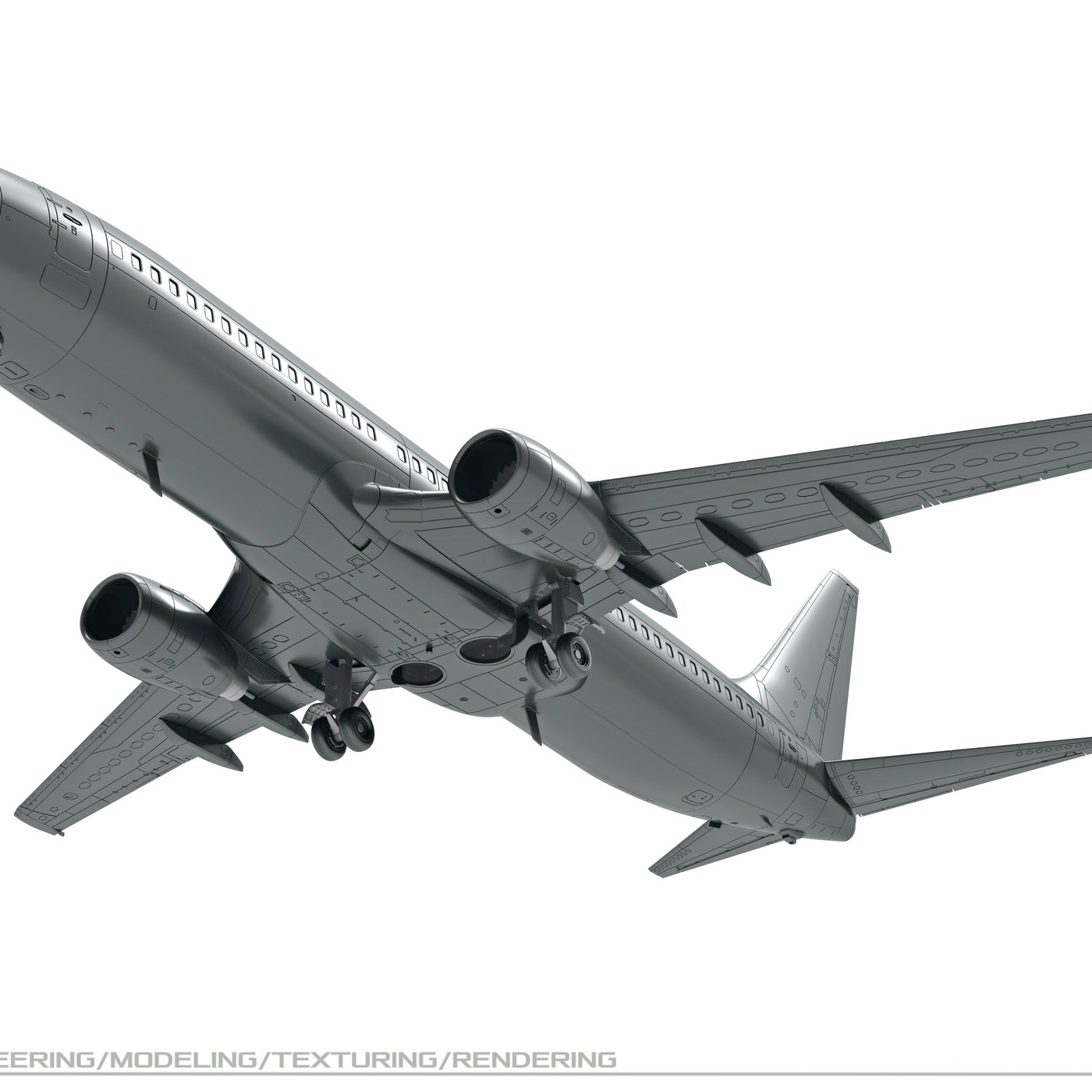 Model (designer) aircraft B-737-800