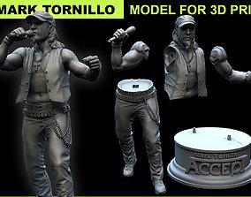 Mark Tornillo 3D model