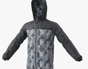 3D Windbreaker Jacket