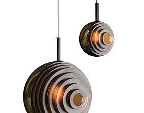 3D model Dark and Bright Star Pendant Lamp