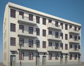 3D Apartment Building 20