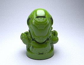 Doom Guy figure 3D printable model