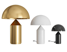 3D model Atollo Metal Table Lamp
