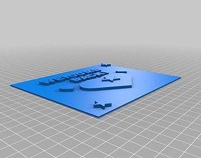 3D printable model Maisa Welcome Home