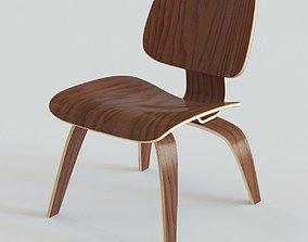 3D Eames LCW Chair