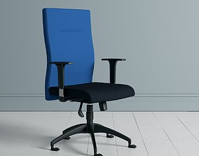 3D model Fluent Office Manager and Visitor Chair