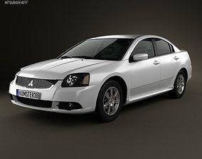 3D model Mitsubishi Galant IX 2012