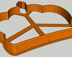 3D print model Crown Cookie Cutter