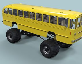 bus Monster Bus 3D