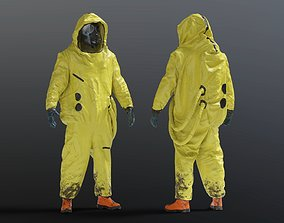 3D model HAZMAT SUIT NBC