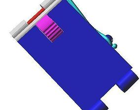 Box clasps 5 - Library techique 3D - Conception of