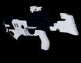 3D model Star War machine gun