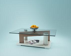 3D model Journal Glass Table