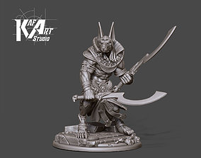 3D printable model Anubis 70mm