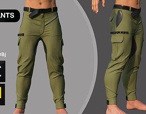 Male Pants Man Outfit Marvelous Designer 3D model