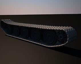 World War 2 tanks tracks 3D