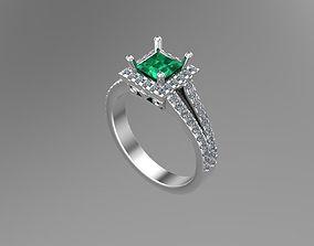 3D print model Diamond Princess gold rings NN092