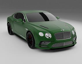 3D Bentley Continental 2018