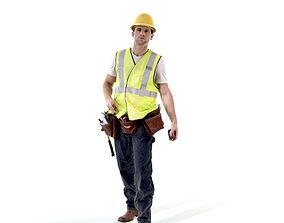 Construction Worker Holding Tools WMan0302-HD2-O01P01-S 3D
