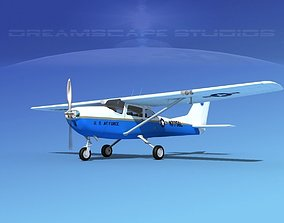 3D model Cessna T-41 Mescalero USAF 4