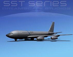3D Boeing KC-135E Stratotanker LPSS V06