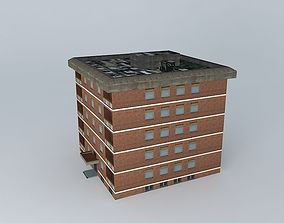 3D model Residential Building Tower 4