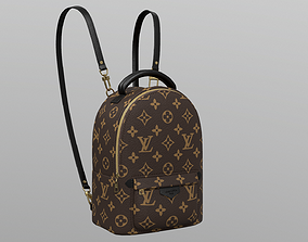 3D model Louis Vuitton Palm Springs Backpack