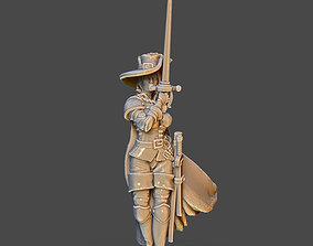 Milady de winter - 35 mm scale 3D printable model
