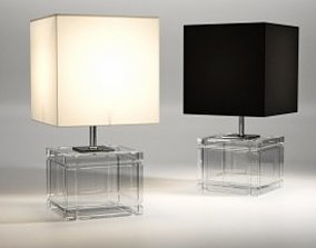 3D asset Academia Table Lamp