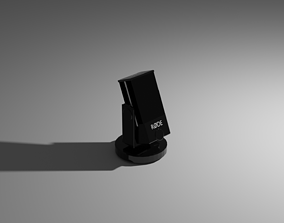 3D asset Rode Microphone low poly