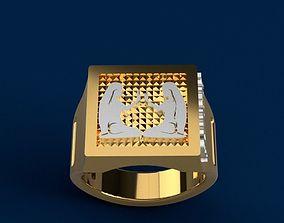 Zodiac GEMINI ring 3D print model