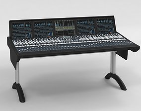 Solid State Logic SSL C10 HD Digital Broadcast Console 3D