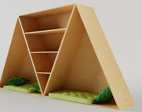 Shelf with Cosy Corner 3D model