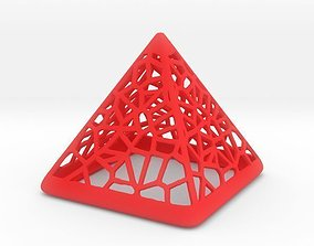 3D print model Wired Pyramid