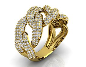 3D printable model Mens Ring Size 10