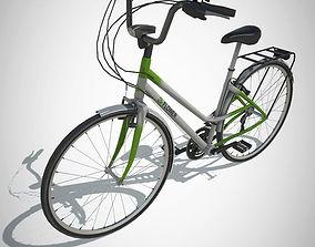 3D model City Bike with LOD