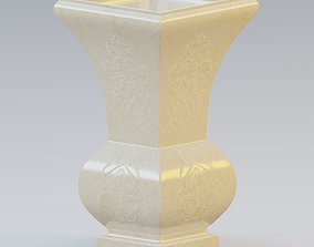 3D Garden urn planter52