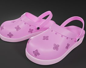 PINK CHILL SHOES 3D asset