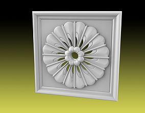 Rosette 020 3D print model