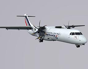 ATR 72 CCM Airlines Air France 3D model