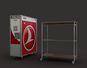 3D Trolley- Airplane Service