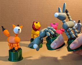 Collapsing Animal Toys 3D printable model