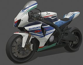 Suzuki GSX-R1000 3D model realtime