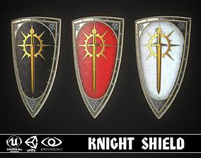 3D asset Knight Shield 07