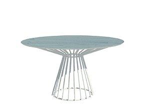 3D Carlisle Dining Table