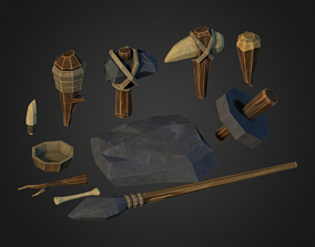 Stone Age Asset game-ready